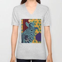 Zebra feeling - Jungle Decor Kids Unisex V-Neck
