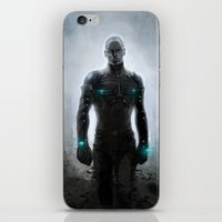 alone iPhone & iPod Skins featuring Alone by Yvan Quinet