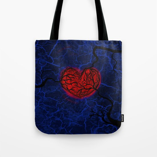Overgrown Heart Tote Bag