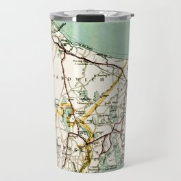 Cap Cod and Vicinity Map Travel Mug