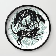 We Are Wild Beasts Wall Clock