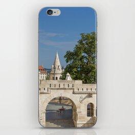 Budapest Fisherman's Bastion iPhone Skin