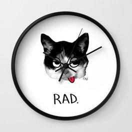 RAD. Wall Clock
