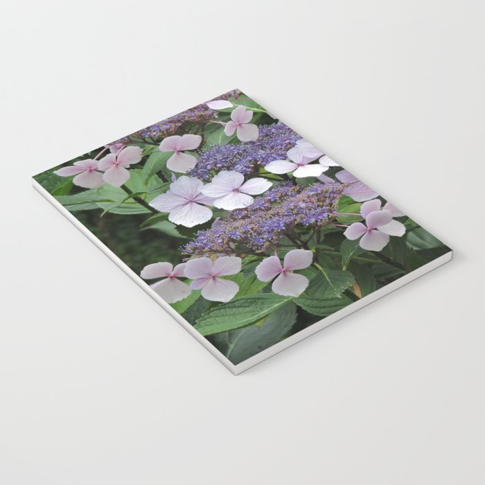 Hydrangea Violet Hues Notebook