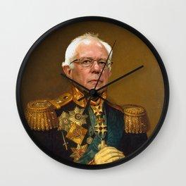 Bernie Sanders 19th Century Painting Wall Clock