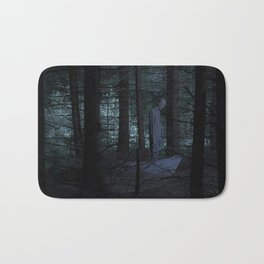 Go to the woods. Bath Mat