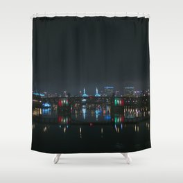 Portland, Oregon Shower Curtain