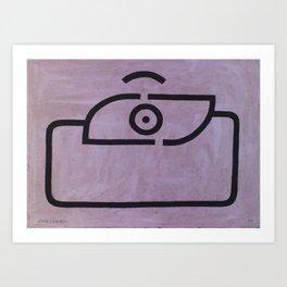 signo 12 negro Art Print