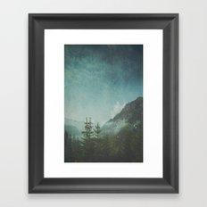 Misty Wilderness - Italian Alps Framed Art Print