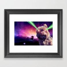 What A Wookie Framed Art Print
