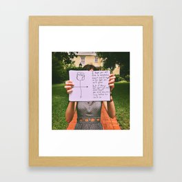 What I'll Tell My Daughter Number 2 Framed Art Print