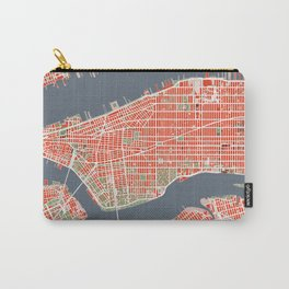 New York city map classic Carry-All Pouch