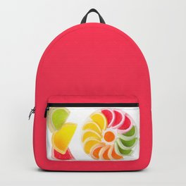 Plenty multicolored chewy gumdrops Backpack