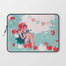 Strawberry girl Laptop Sleeve