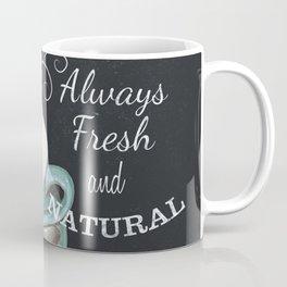 Retro Chalkboard Coffee 1 Coffee Mug