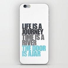 The Door is Ajar iPhone & iPod Skin