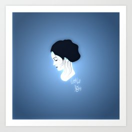 Chillout Night Art Print