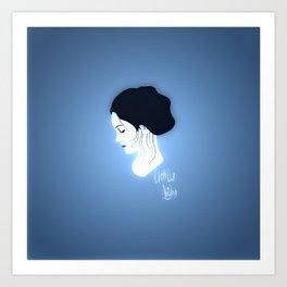 Chillout Night Art Print