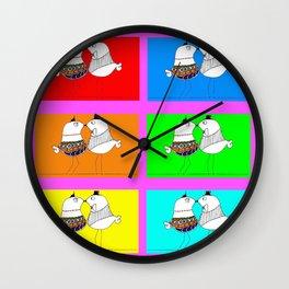 Pareja Wall Clock