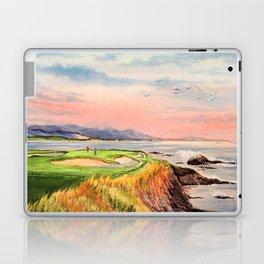 Pebble Beach Golf Course Hole 7 Laptop & iPad Skin