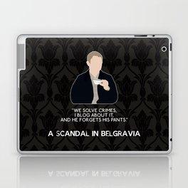 A Scandal in Belgravia - John Watson Laptop & iPad Skin