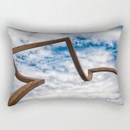 Just Around The Corner Rectangular Pillow