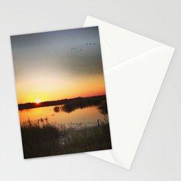 Norfolk evening Stationery Cards