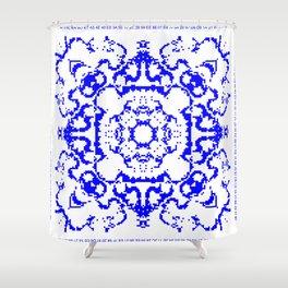 CA Fantasy Blue series #2 Shower Curtain