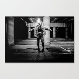 PARKING LOT PUNK Canvas Print