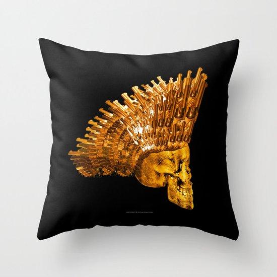 WAR MONGER 105 Throw Pillow