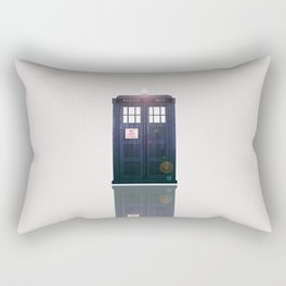 Tardis Shine Rectangular Pillow