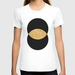 VESICA PISCES CIRCLE ABSTRACT GEOMETRIC SYMBOL T-shirt