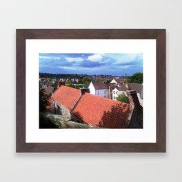 Tweedmouth, Berwick Upon Tweed by FGW Framed Art Print