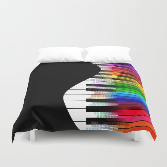 Feel the Music Duvet Cover