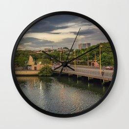 Estero Salado River Guayaquil Ecuador Wall Clock