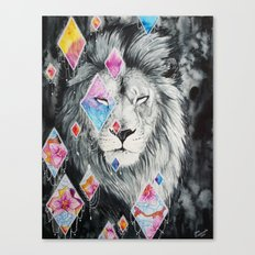 The beauty in me- Lion Canvas Print