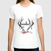 hannibal T-shirts featuring Hannibal  by lazergo