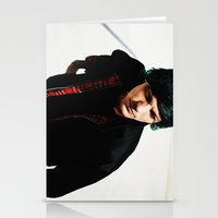 louis tomlinson Stationery Cards featuring Louis Tomlinson by Becca / But-Like-How