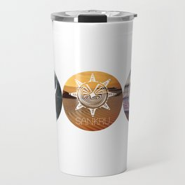 Five of Thirteen Clans Alternate Travel Mug