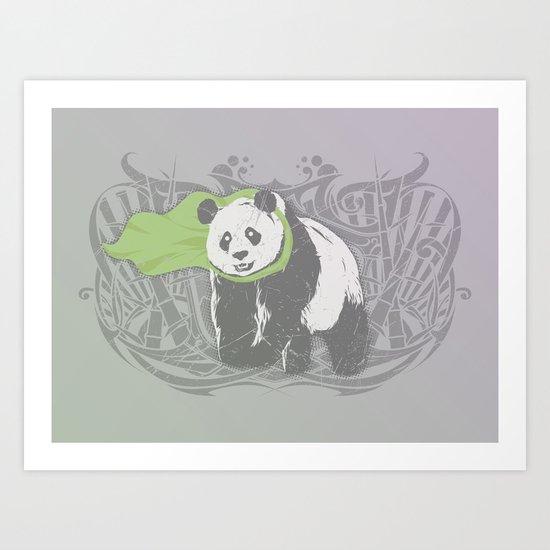 Fearless Creature: Bam Art Print