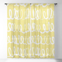 In other Words Sheer Curtain