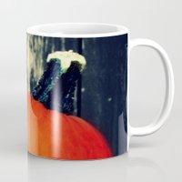 pumpkin Mugs featuring Pumpkin by A.K.H.