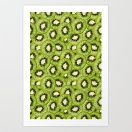 You Hold the Kiwi to My Heart Art Print