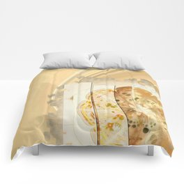 Upshifting Unconcealed Flowers  ID:16165-105815-13851 Comforters