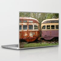 bender Laptop & iPad Skins featuring Fender Bender by Michael G. Mitchener