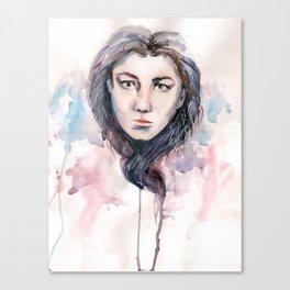 waterheart Canvas Print