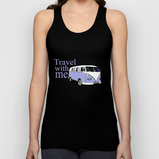 travel with me!!! Unisex Tank Top