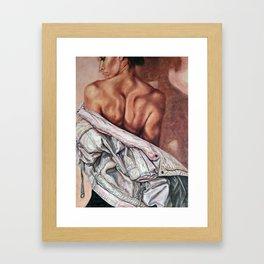 Jacket Framed Art Print