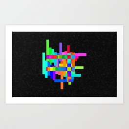 Chroma-Zone Art Print