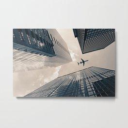 Time Frame Metal Print